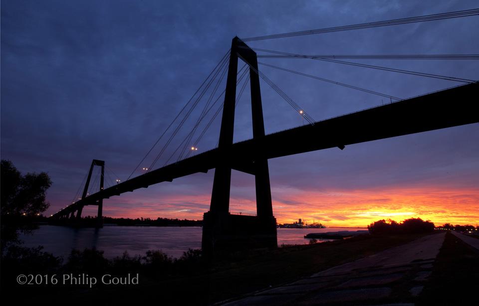 Hale Boggs Bridge in Destrahan, Louisiana