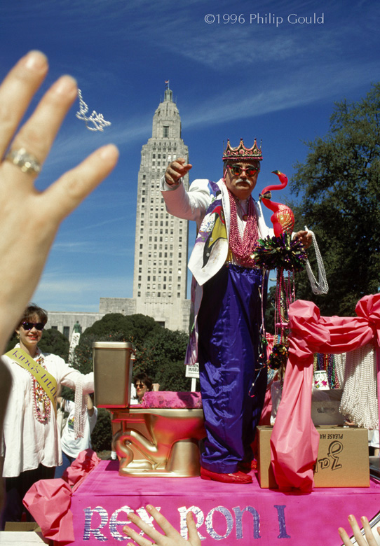 Mardi Gras; King of Spanish Town Parade; Baton Rouge